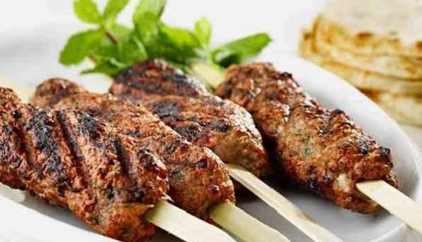 Kefta de mouton grillée