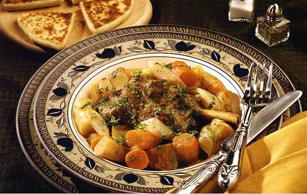 Boeuf bourguignon halal
