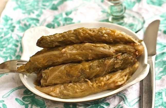 Choux farcis libanais (Malfouf)