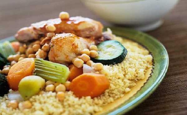 Couscous Alg�rois au poulet