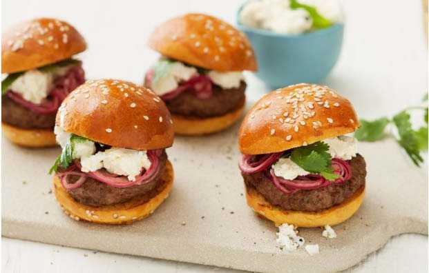 Hamburgers � la Marocaine