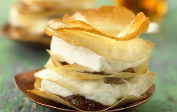 Pastilla de ch�vre frais aux figues