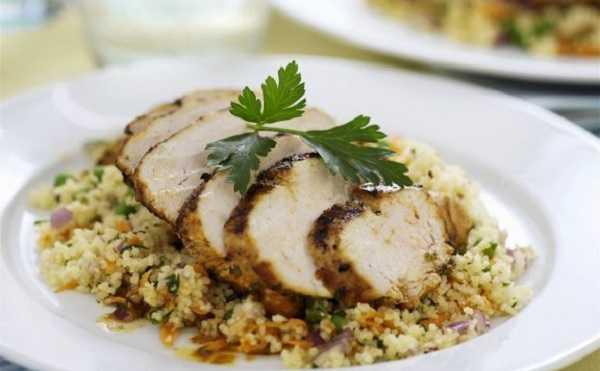 Recette de poulet r�ti au couscous