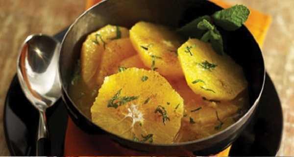 Salade d'oranges aux �pices