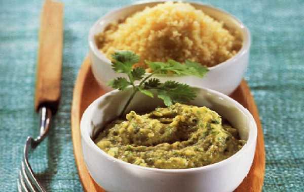 Salade de couscous et de pois chiches