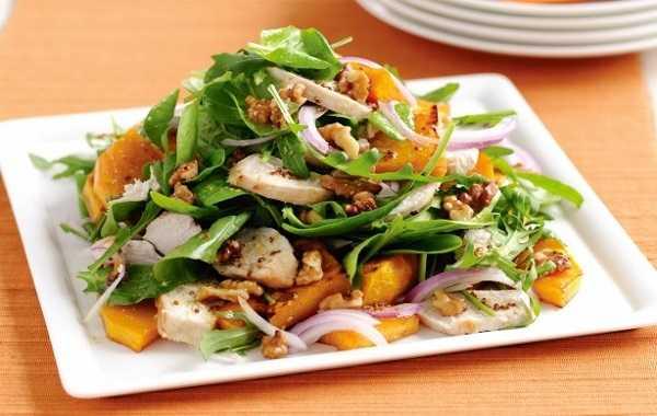 Salade de patates douces au poulet
