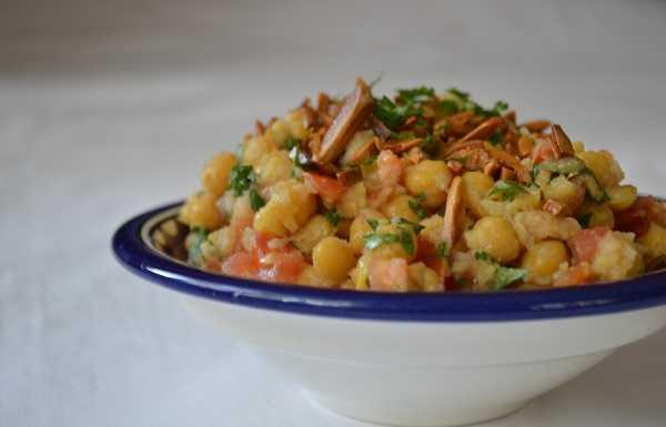 Salade de pois chiches � l'orientale