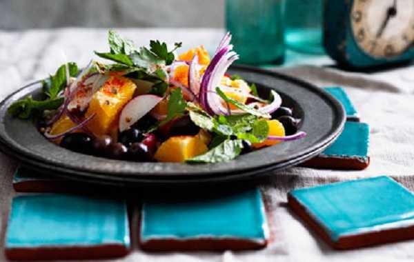 Salade de radis et oranges � la marocaine