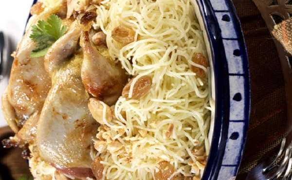 Seffa de vermicelles au poulet
