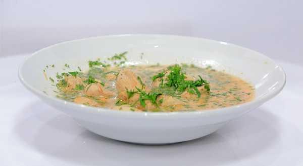 Soupe de vermicelles au poulet