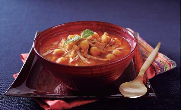 Recette de soupe marocaine-harira
