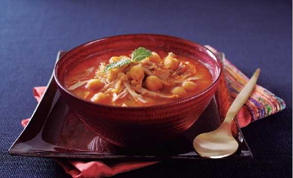 Soupe marocaine-Harira