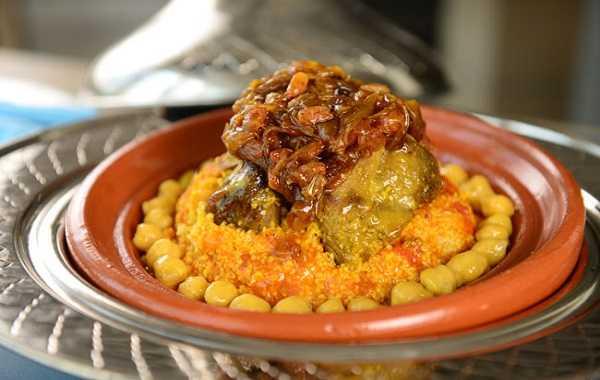 Recette de couscous au poulet et oignons