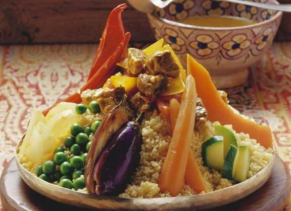 Recette de couscous aux sept l�gumes