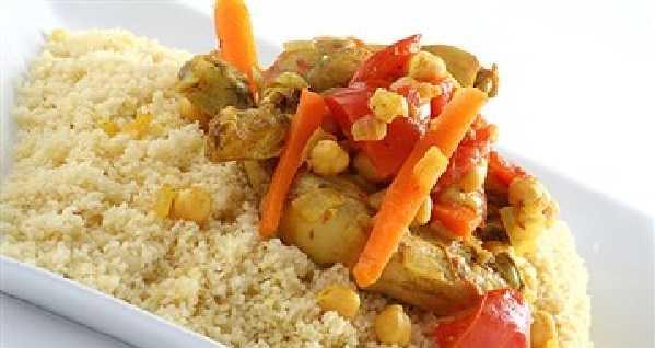 Recette de couscous au poulet