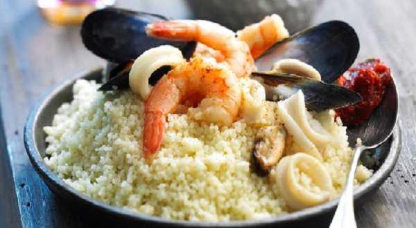 Recette de couscous aux fruits de mer