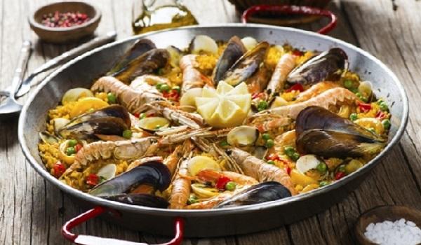 Paella à la Marocaine