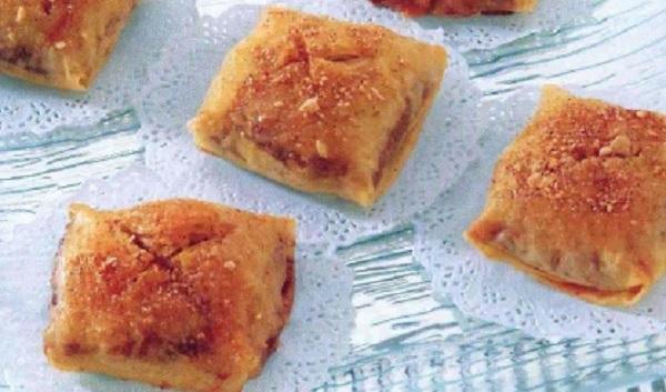 Pastilla aux poires et aux amandes