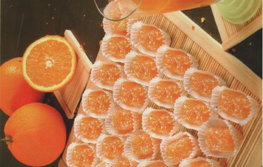 Pâte de fruits à l'orange