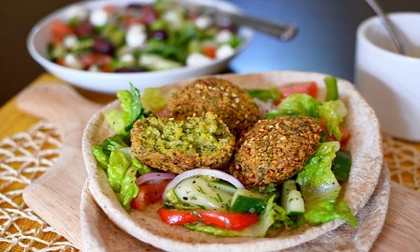 Pitas aux falafel