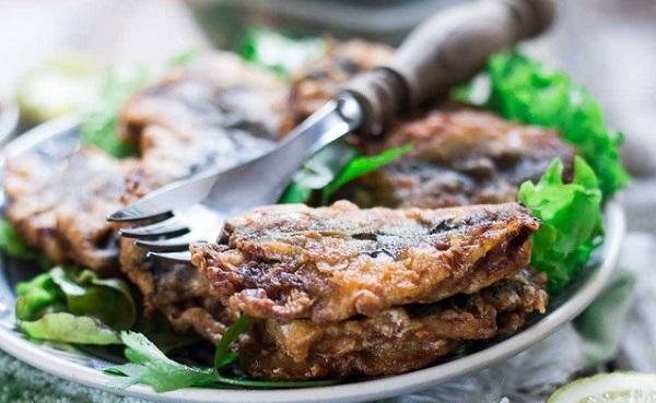 Poisson frit sauce chermoula