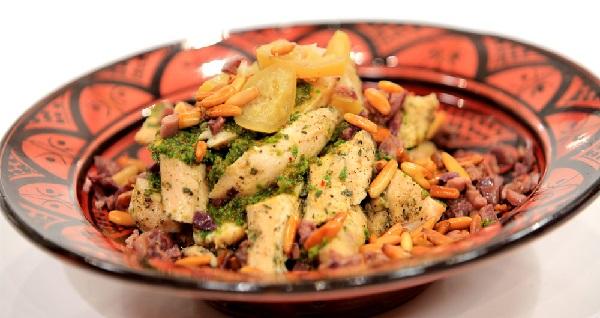 Poulet frit aux épices Marocaines