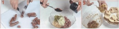 preparation-batbout-au-saucisses