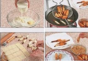 preparation-cigares-aux-amandes-miel-moderne