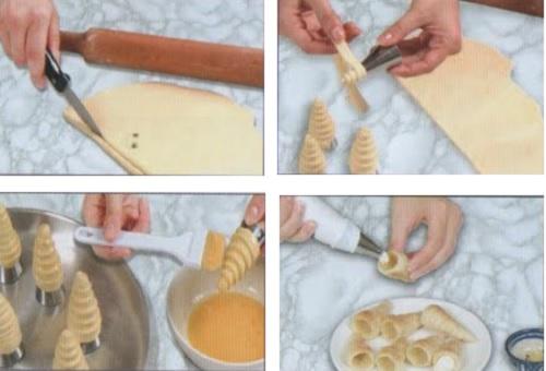 preparation-feuillete-cornets