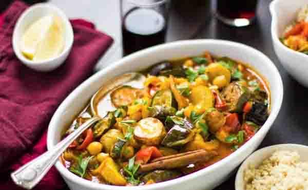 Ragoût de légumes au safran