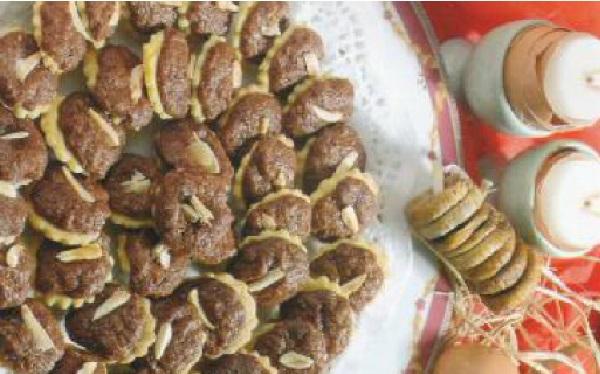Sablés à la figue et chocolat