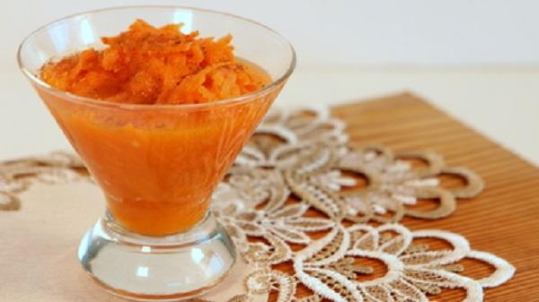 Salade de carotte à la fleur d'oranger