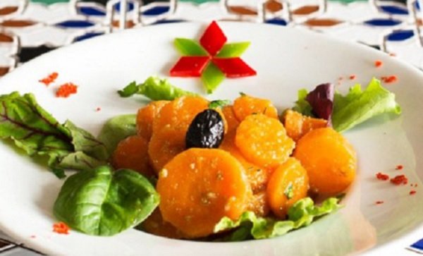 Salade de carottes à l'orientale