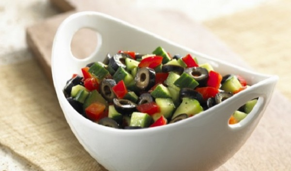 Salade de concombre à la Marocaine