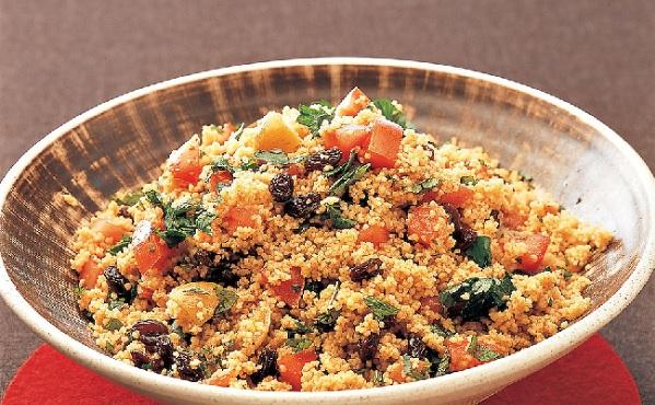 Salade de couscous pimentée