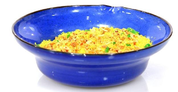 Salade de couscous tricolore