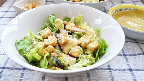 Salade dinde- fromage