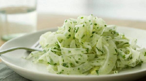 Salade de fenouil cru