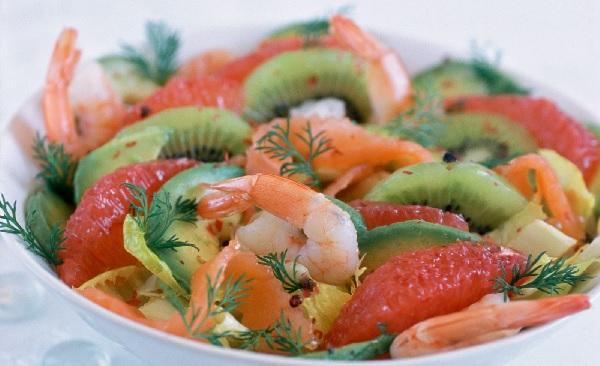 Salade aux kiwis