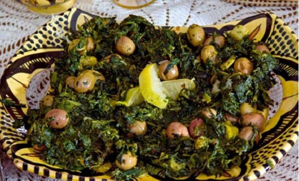 Salade Rjla aux olives et citrons confits