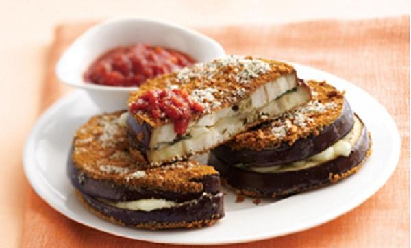 Sandwichs d'aubergine