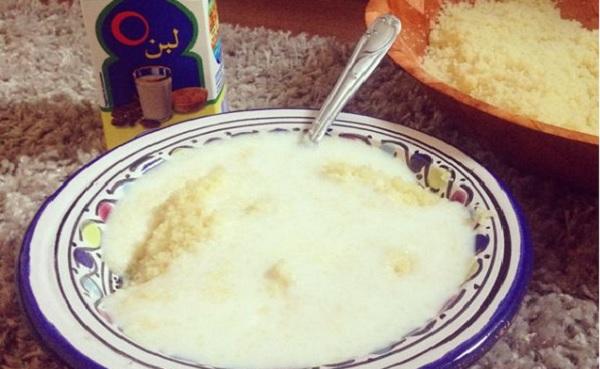 Saykok ou Couscous au lait fementé