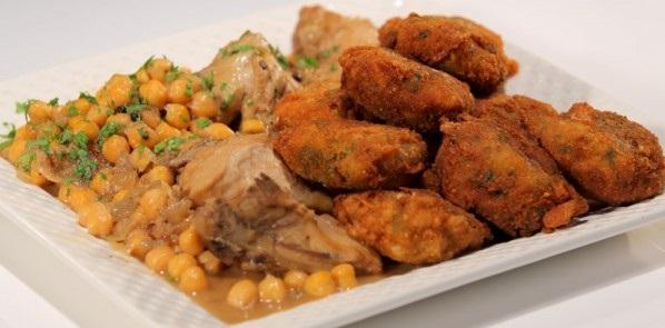 Sfiriya- Croquettes de pain en sauce