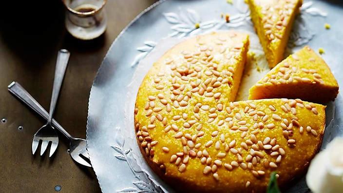 Sfouf- Gâteau Libanais à la Semoule