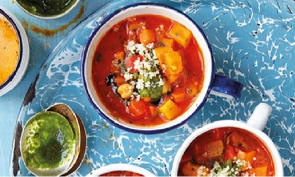 Soupe de légumes aux pâtes