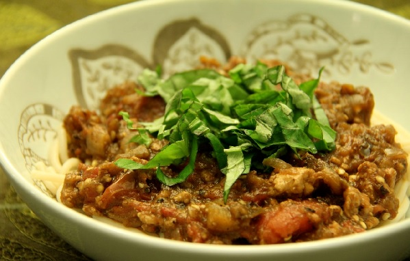 Spaghetti au boeuf