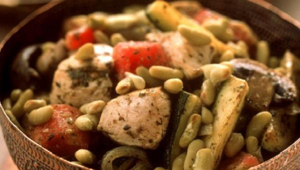Tajine de mulet aux fèves