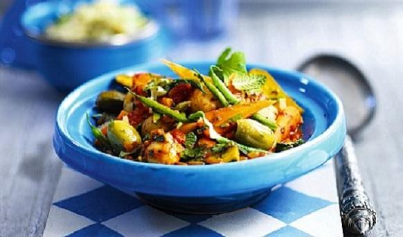 Tajine de légumes du soleil