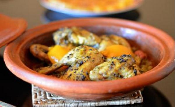 Tajine de poulet au nigelle (Sanouj)
