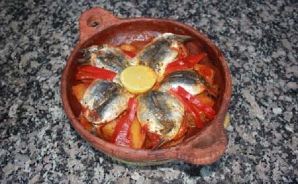Tajine de sardines au four
